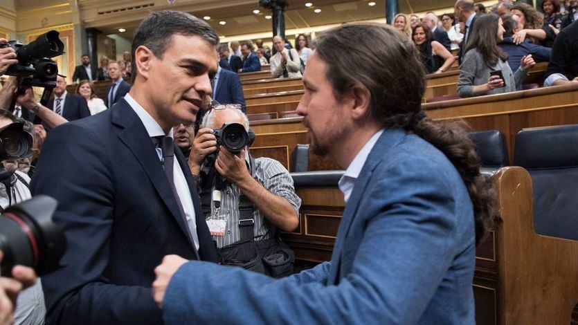Cuando un Gobierno de coalición no era un problema para Sánchez