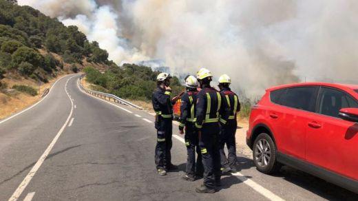 Incendios en la Comunidad de Madrid: 1.300 hectáreas calcinadas y población desalojada