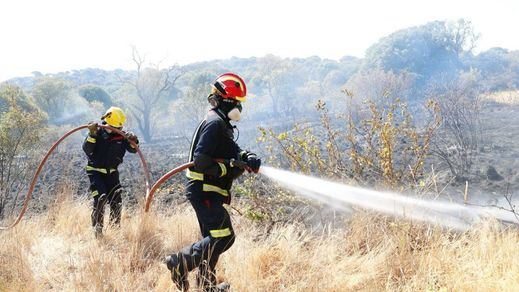 El devastador incendio entre Madrid y Toledo, con