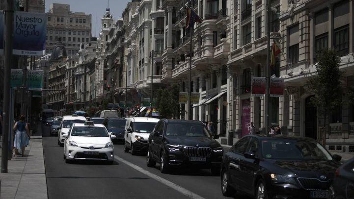 Primer día sin Madrid Central: sube el tráfico más del 5% en la ciudad y la contaminación supera el límite permitido