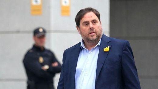 El Supremo pide al TJUE que se pronuncie sobre la inmunidad parlamentaria de Junqueras