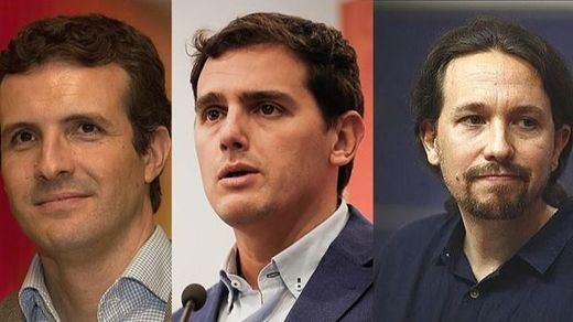 PP, Cs y Podemos arremeten contra Sánchez tras el anuncio de la fecha de la investidura