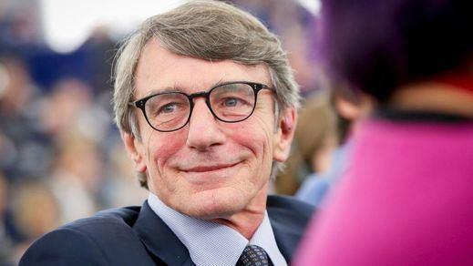 El socialdemócrata italiano David Sassoli, elegido presidente del Europarlamento