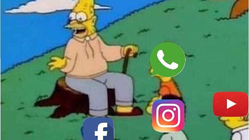 Twitter se llena de memes por la caída de WhatsApp, Instagram y Facebook