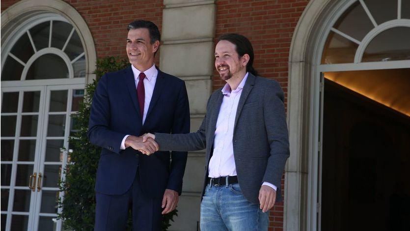 Sánchez e Iglesias se citan el martes para seguir negociando la investidura