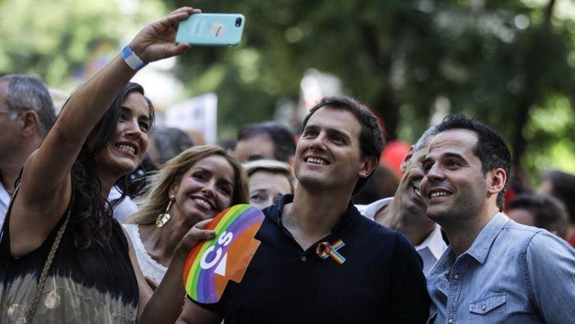 Ciudadanos, contra la dirección del Orgullo: 'Nadie ha salido de un armario para ser encerrado en otro por sus ideas'