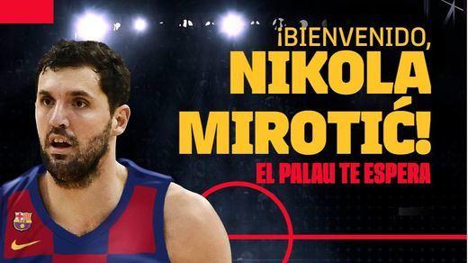 Nikola Mirotic, el fichaje bomba del Barça para las próximas tres temporadas
