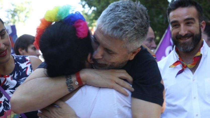 El PSOE apoya a Marlaska, para el que Ciudadanos exige su cabeza por la polémica del Orgullo