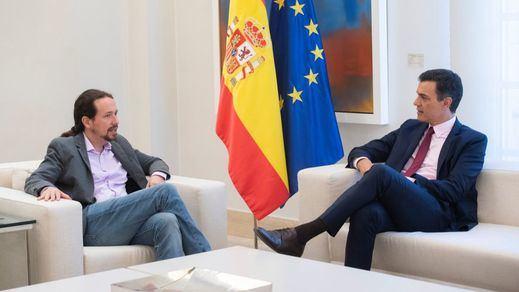 Iglesias y Sánchez entran en tiempo de descuento: Podemos no cede y exigirá sentarse en el Consejo de Ministros