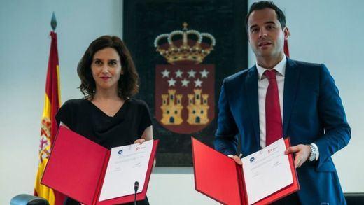 Madrid: Ayuso se presentará a la investidura el miércoles y se abre a firmar un pacto con Vox al margen de Ciudadanos