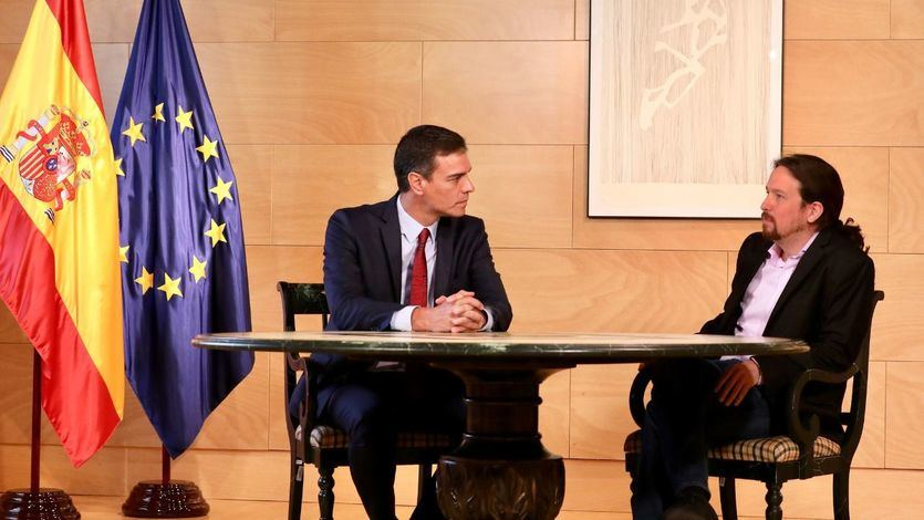 El cruce de reproches entre el PSOE y Podemos tras fracasar la quinta reunión entre Sánchez e Iglesias