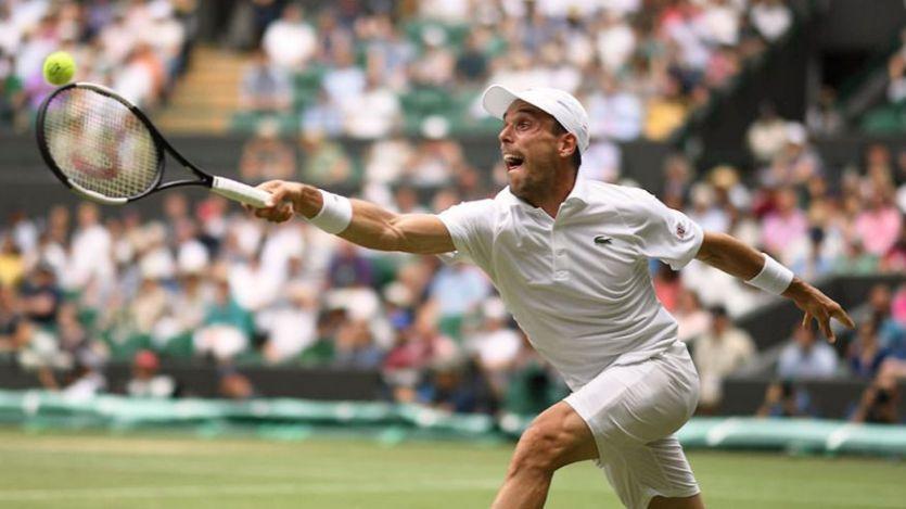 Roberto Bautista jugará por primera vez las semifinales de Wimbledon
