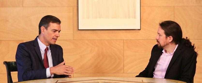 Sánchez e Iglesias constatan su desacuerdo en una infructuosa conversación telefónica