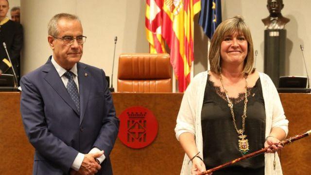La socialista Núria Marín, nueva presidenta de la Diputación de Barcelona tras el pacto con JxCat