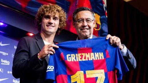 Bartomeu niega que haya pruebas de que negociase con Griezmann antes de tiempo