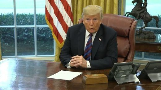 Trump llama racistas a las congresistas a las que pidió que volvieran a su país
