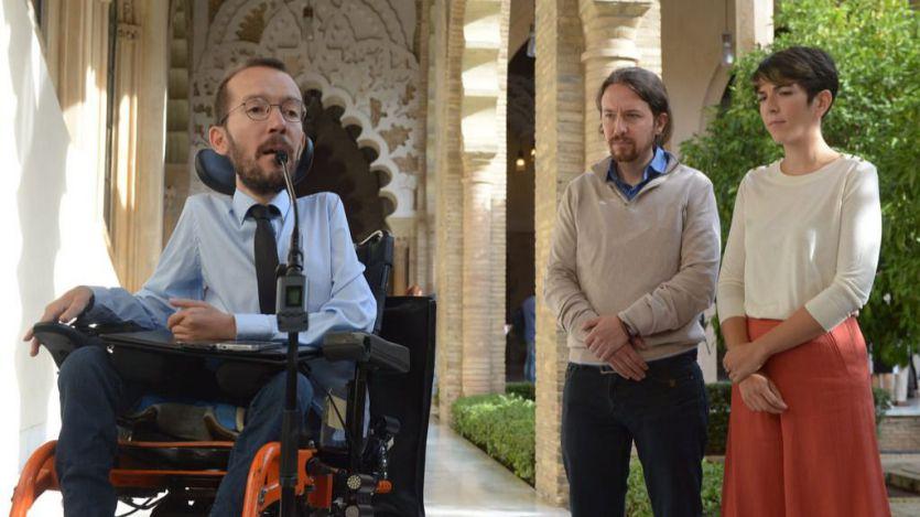 Echenique responde a Sánchez: 'Vetar a Pablo Iglesias es vetar a Unidas Podemos'