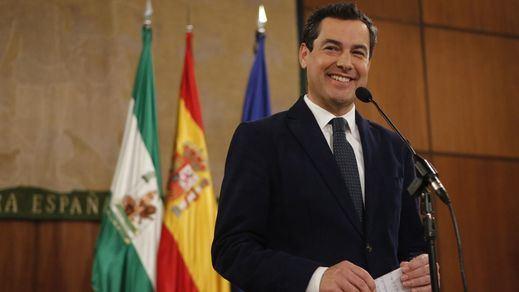 PP, Cs y Vox aprueban juntos el Presupuesto de Andalucía