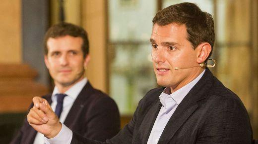 Rivera contra Casado, el otro gran duelo del debate de investidura