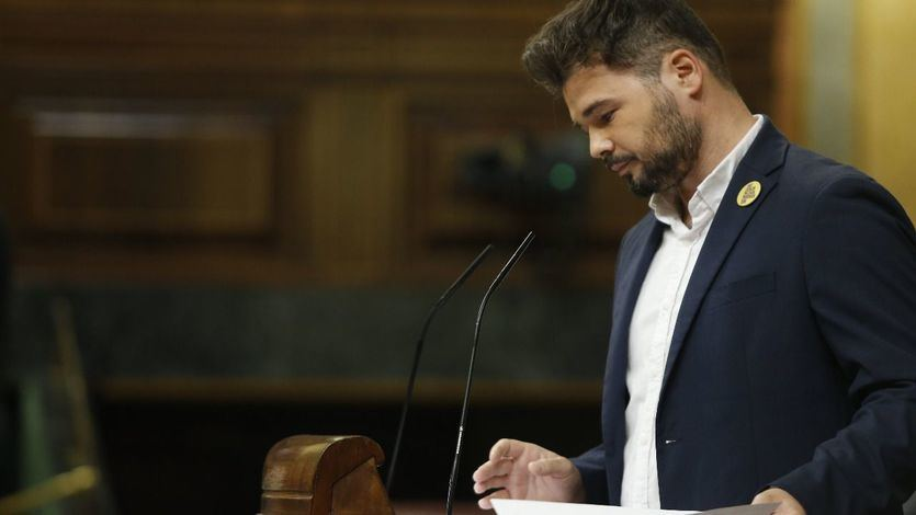 Rufián miente: Amnistía Internacional nunca ha hablado de 'presos políticos' en Cataluña
