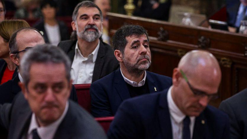 Vuelven a negar la libertad provisional a los presos del 'procés' a la espera de la sentencia