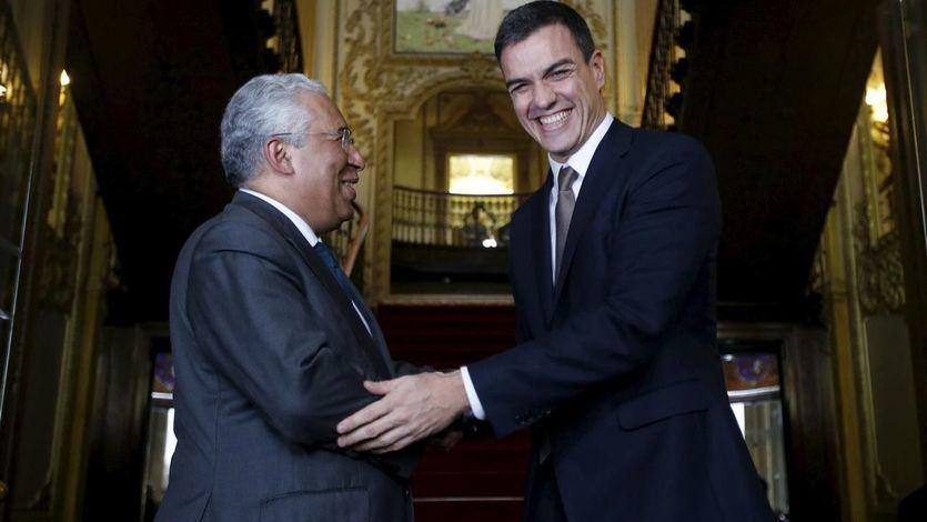 Pedro Sánchez y Antonio Costa en Portugal