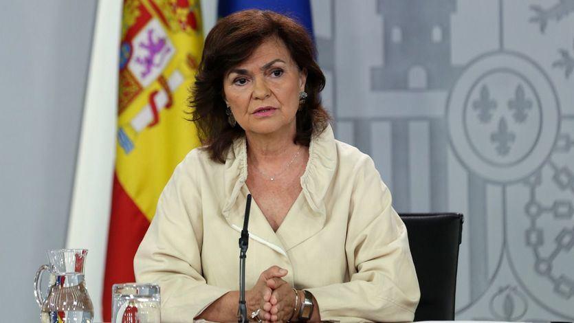 Calvo: el Gobierno no se irá de vacaciones y descarta ya una coalición con Podemos