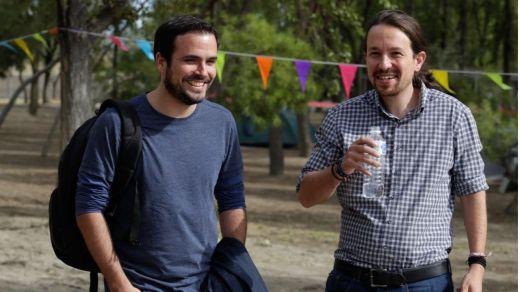 IU se desmarca de Podemos y reclama cerrar un programa con el PSOE