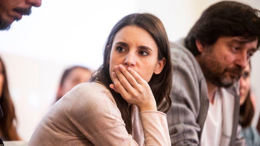 Irene Montero, otrora 'vicepresidenciable', acusa a Carmen Calvo de faltar 'al respeto a la democracia' por filtrar una falsificación