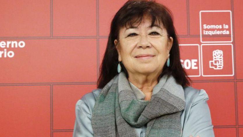 Cristina Narbona, presidenta del PSOE