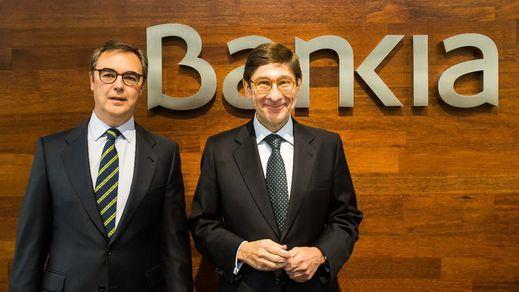 Bankia logra un beneficio neto de 400 millones hasta junio