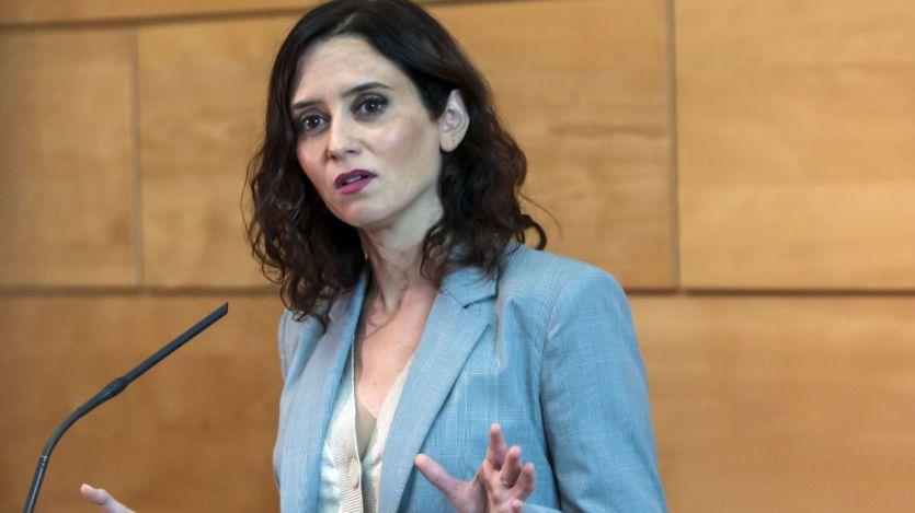 Ayuso ya se ve presidenta de Madrid tras el 'ok' de Ciudadanos a Vox