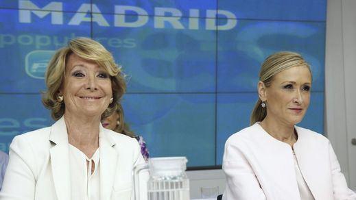 La Fiscalía pide imputar a Aguirre y Cifuentes por financiación ilegal del PP de Madrid