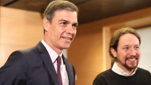 Sánchez lima asperezas con Podemos a raíz del nacimiento de la hija de Pablo Iglesias