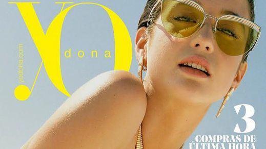 María Pedraza critica a la revista 'Yo Dona' por sacarla demasiado retocada en portada