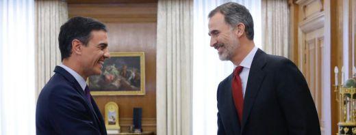 Sánchez despacha hoy con el Rey pero no se espera que le comunique novedades sobre su investidura