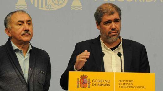 Sánchez cierra su ronda de reuniones con organizaciones de la sociedad civil recibiendo a sindicatos y patronales