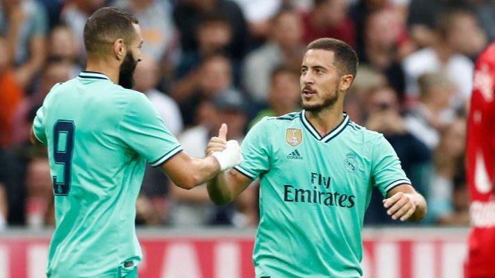 Hazard se estrena pero el Madrid sigue muy verde esta pretemporada (0-1)
