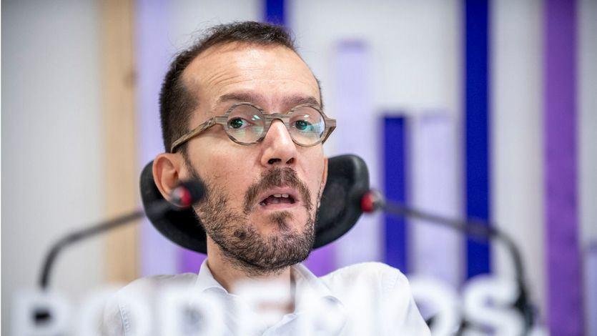 Echenique, en contra de llevar la 'telenovela' de las negociaciones hasta el 'pitido final' como insinúa el PSOE