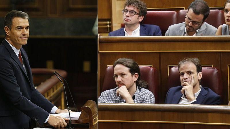 El cruce de reproches entre PSOE y Podemos y el fantasma de la repetición de elecciones