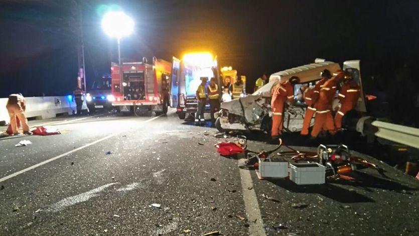 Los 3 motivos principales de los accidentes mortales de tráfico