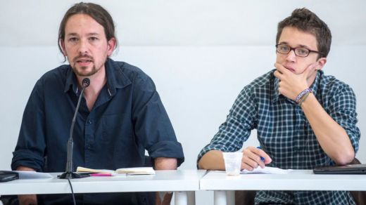 Errejón no llamó a Podemos