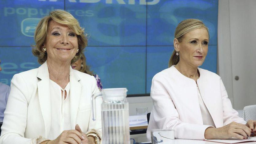Las ausencias en la investidura de Ayuso: Casado, Aguirre, Cifuentes...