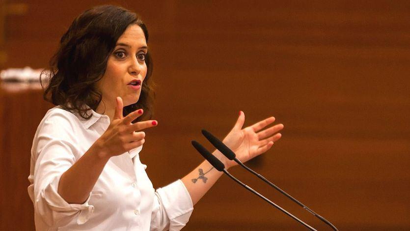 Ayuso logra ser investida presidenta con el apoyo de Cs y Vox