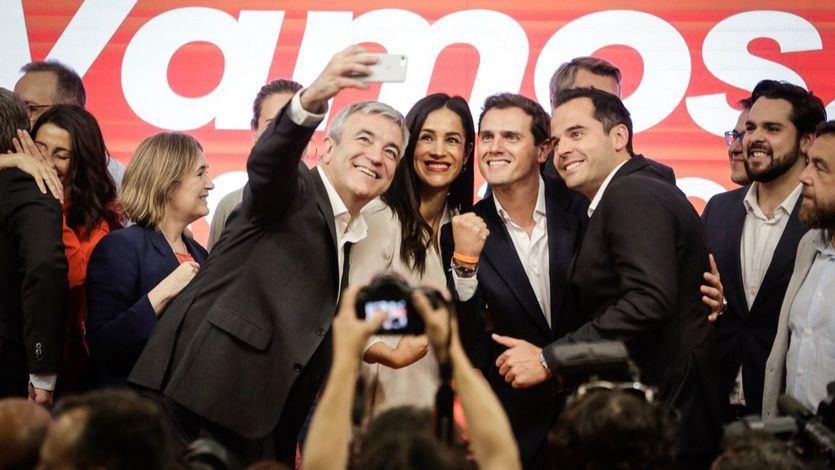 Ciudadanos atribuye la coalición 'España Suma' al 'batacazo electoral' del PP