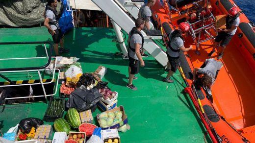 La ONG Open Arms rechaza la opción de ir a Algeciras ante la imposibilidad de afrontar varios días de travesía