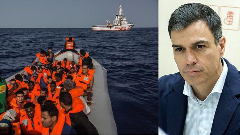 Sánchez, que ofreció tarde una solución para el Open Arms, señalado por la ONG y la oposición por sus 'bandazos'