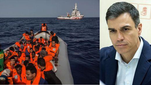 Sánchez, que ofreció tarde una solución para el Open Arms, señalado por la ONG y la oposición por sus