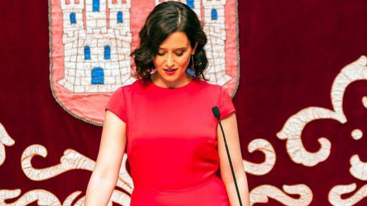 Isabel Díaz Ayuso ya es presidenta de la Comunidad de Madrid