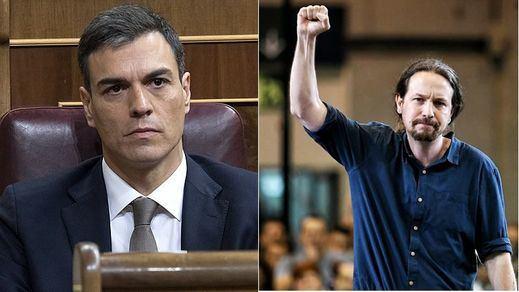 El PSOE y Podemos, sin contacto de cara a la investidura de Sánchez